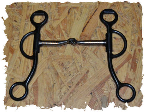 Snaffle Bit with short Shanks, 11,5 cm