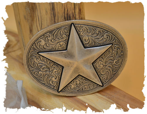 Buckle FIVE POINT STAR